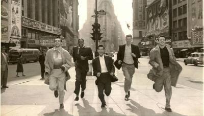 Seattle U in NYC 1950s