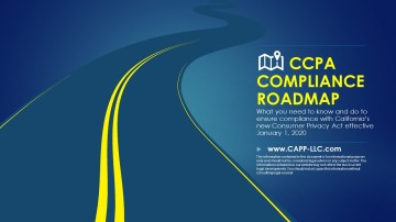 Your CCPA Compliance Roadmap - Compliance and Privacy Partners - 2019